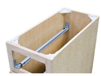 kitchen cabinet undermount drawer slides best 25 soft drawer slides ideas on 7969
