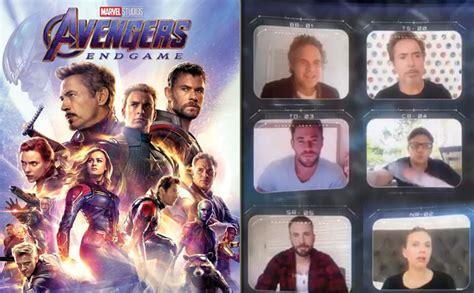 Avengers: Endgame's Chris Evans, Robert Downey Jr & Other ...