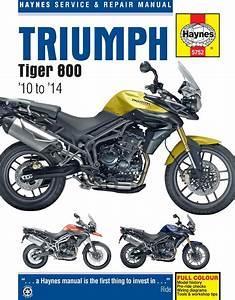 Triumph Tiger 800 Haynes Manual 2010on Tiger 800xc  U0026 Tiger