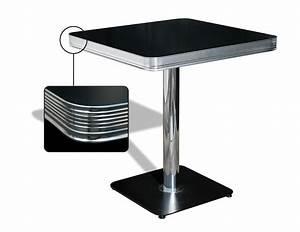 American Diner Tisch : fifties bel air vierkant retro terrastafeltje te koop ~ Frokenaadalensverden.com Haus und Dekorationen