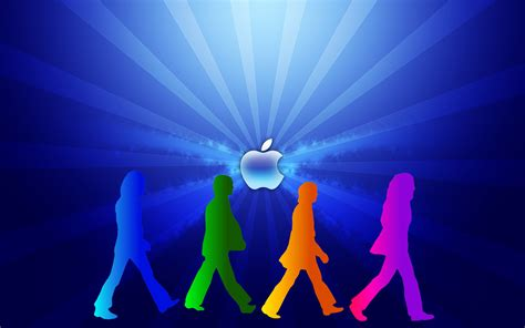 apple beatles cover hd wallpaper high quality wallpapers