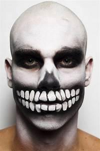 Halloween Kostüm Herren Ideen : zombie schminke m nner makeup halloween schmink ideen ~ Lizthompson.info Haus und Dekorationen