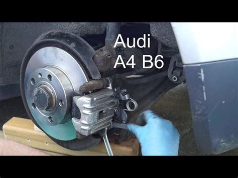 elektrische handbremse zurückstellen bremskolben zur 252 ckstellen hinterachse handbremse tutorial