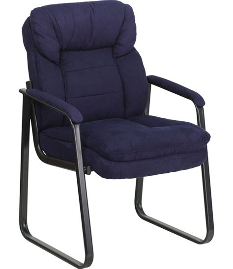 microfiber executive side chair in waiting room chairs