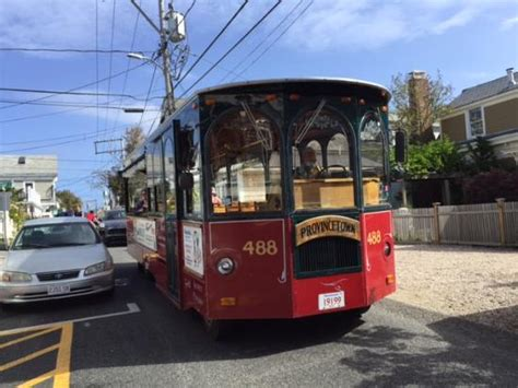 Here Comes The Trolley  Picture Of Provincetown Trolley