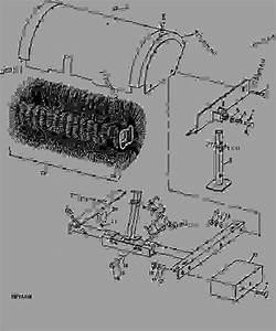 John Deere Rotary Broom Parts