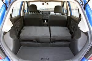 2010 Nissan Versa Hatchback Interior