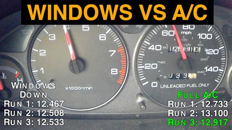 Air Conditioning Vs. Windows Down