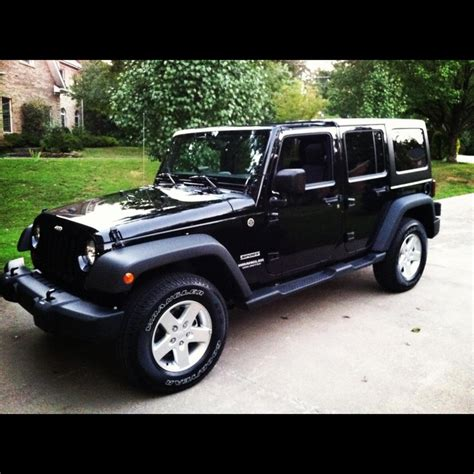 black jeep 4 door 1000 images about dream vehicle on pinterest 2014 jeep