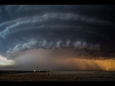 supercell timelapse north  booker texas june