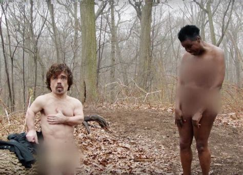 WATCH Peter Dinklage And Leslie Jones Are Naked And