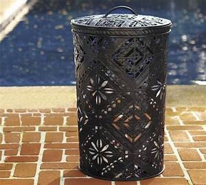 Love This Pierced Metal Bin But Like Almost Everything At