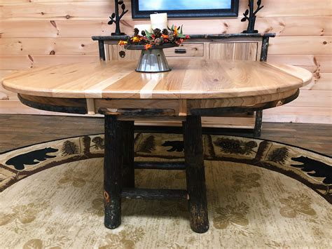 hickory dining table mountain top furniture