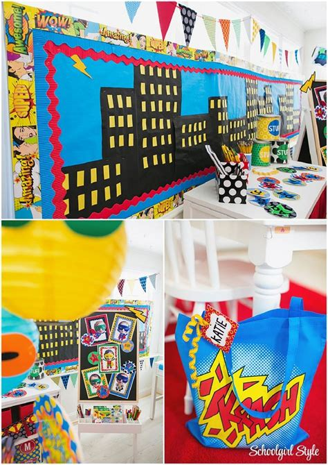 Best 25+ Superhero Classroom Door Ideas On Pinterest  Superhero Classroom Theme, Superhero