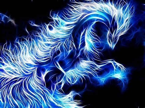 Blue Dragon Wallpaper Hd