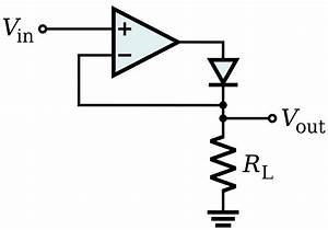 precision rectifier wikipedia With shows the voltages and current in a simple half wave rectifier circuit