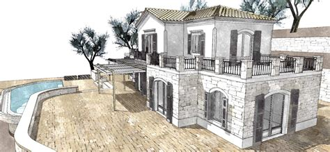 Architecture Design by Projects Architecture Sketches Corfu Architect