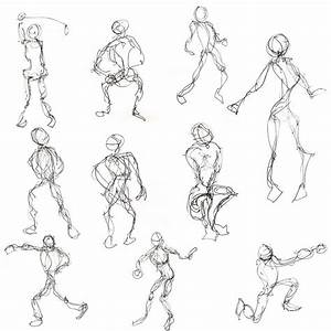 Basic Drawing 1  Examples Of Gesture Drawing From The Web