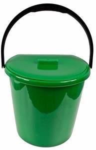 Komposteimer mit tragegriff abfalleimer mulleimer biomull for Abfalleimer für biomüll