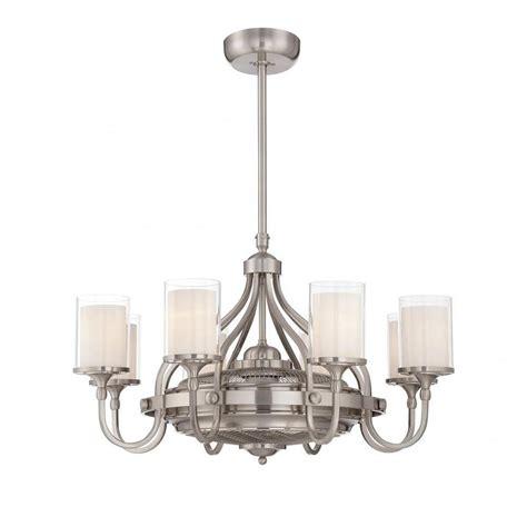 40 inch ceiling fan illumine maiden 40 in indoor satin nickel ceiling fan cli
