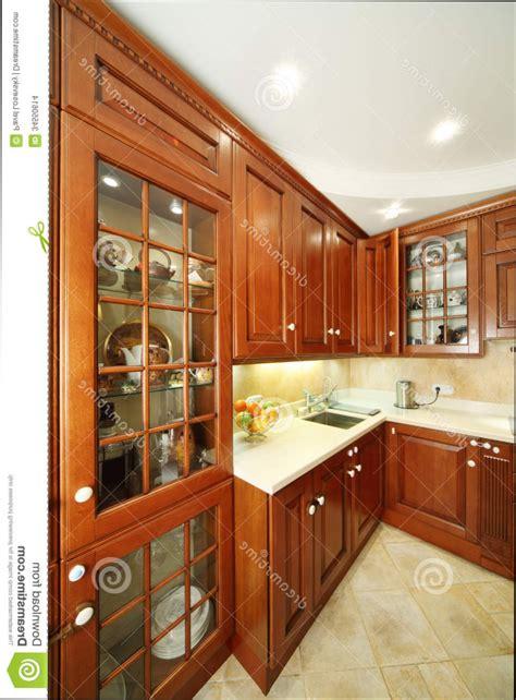 des placards de cuisine cuisine bois placard de cuisine en bois moderne