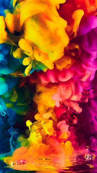 Smoke 4k Colorful Wallpapers Iphone 1080 Resolutions