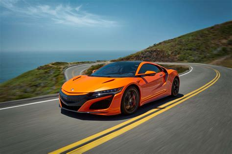 2019 acura nsx new color new options new tire