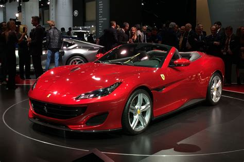 New Ferraris by New Portofino 2018 Revealed In Pictures By Car
