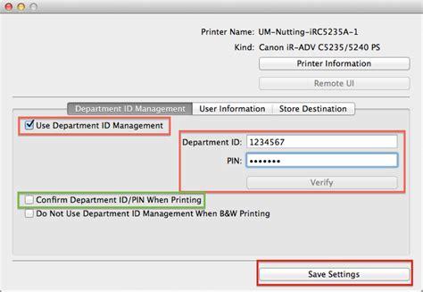 id馥 am駭agement bureau copy of configuring your mac for canon mfp dept id