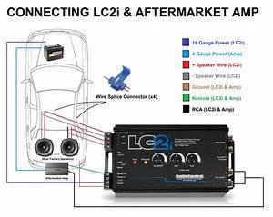 Noob Here So I Want To Install A Lc2i For My Sub  It Is Okay If I Use My Back Door Speakers I