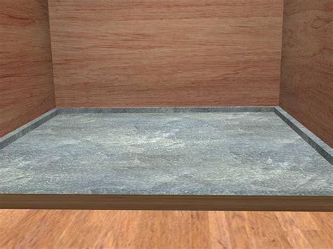 prefab shower pan for tile cablecarchic interior design