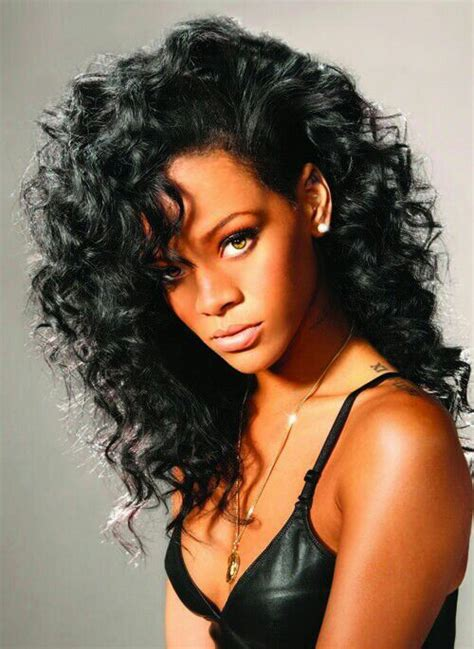 curly hair styles images rihanna who rihanna amino 6529