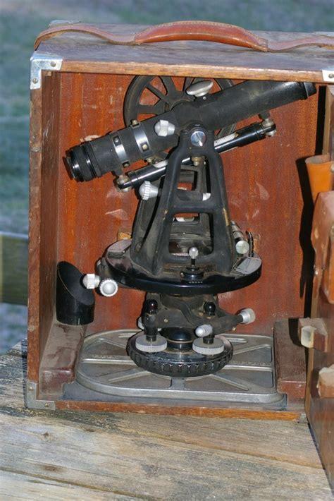 Dietzgen Surveyors Transit or Theodolite in case from