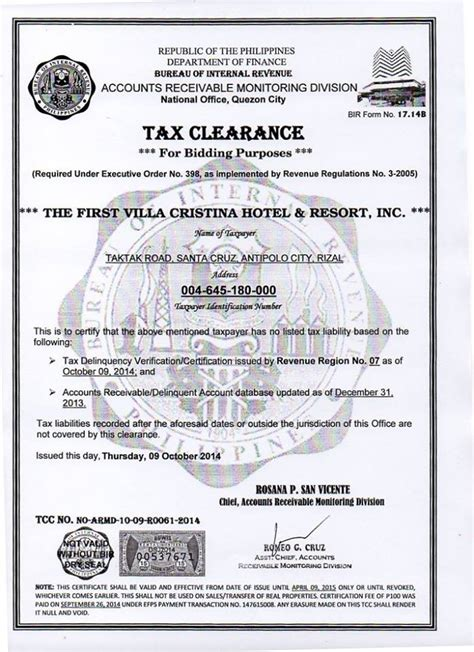 Letter to apply for tax clearance application letter for tax certicate tax clearance nepali certificate application for source deduction clearance certificate. Sample Certificate: Tax Clearance Certificate Application Form