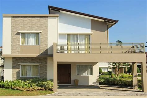 house new design model modern houses design philippines lancaster new city
