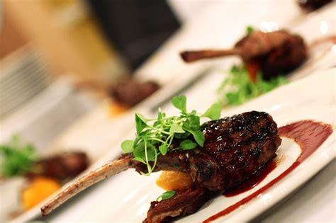 franciscan estates wine dinner lamb chop