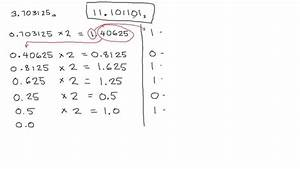 Decimal Fraction To Binary Conversion