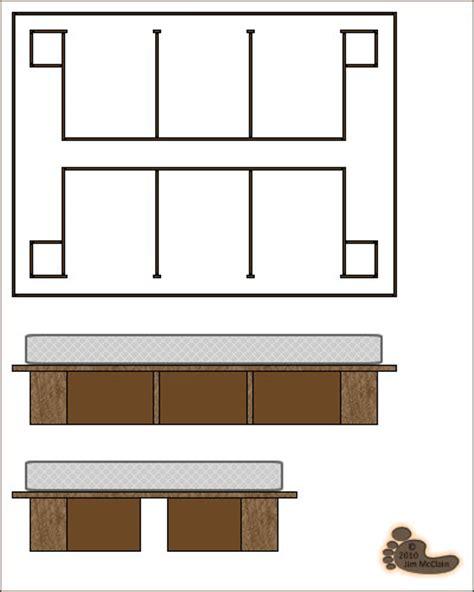 woodwork diy full size platform bed  storage plans