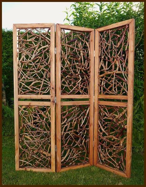 Paravent Holz Garten by Paravent Garten 7 Wohnen
