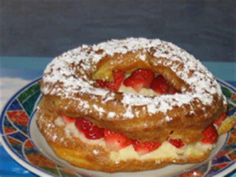 amatable recette de couronne de p 226 te 224 choux aux fraises