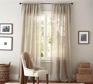 le rideau en lin une belle decoration pour l39interieur With tapis de souris personnalisé avec housse canape lin blanc