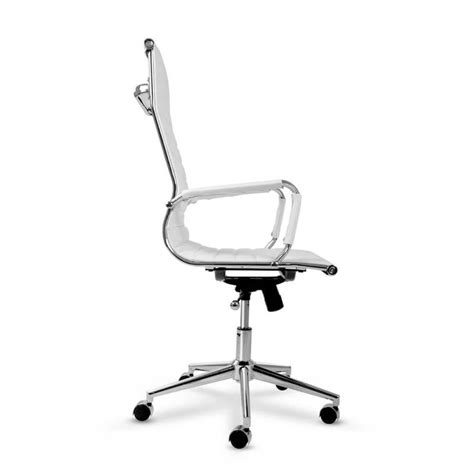 eames replica pu leather executive chair white buy