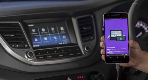 hyundai adds android auto elantra veloster tucson santa fe
