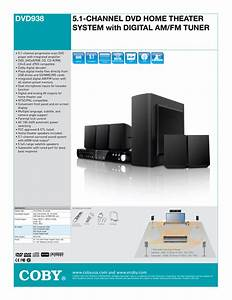Coby 51 Home Theater System Manual