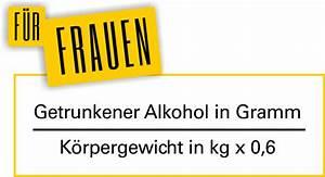 Alkoholgehalt Im Blut Berechnen : promillerechner starker wille statt promille ~ Themetempest.com Abrechnung