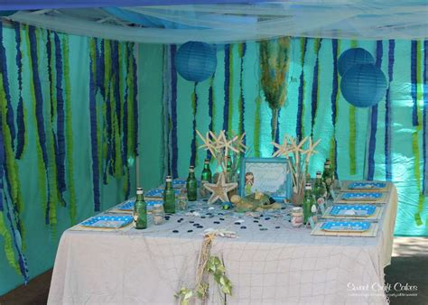 Under The Sea/ Mermaid Party Birthday Party Ideas