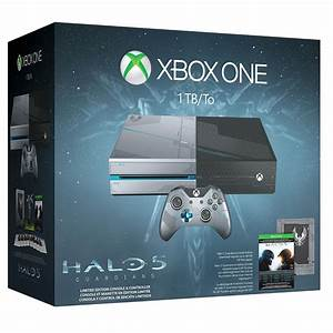 Microsoft Xbox One + Halo 5 : Guardians - Limited Edition ...