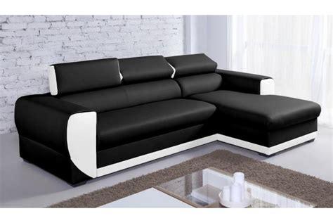 canapé blanc simili cuir pas cher canapé d 39 angle en simili cuir pas cher