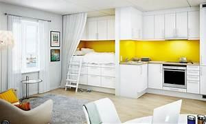Home Design: Kitchen Kitchen Nice Looking Open Space ...