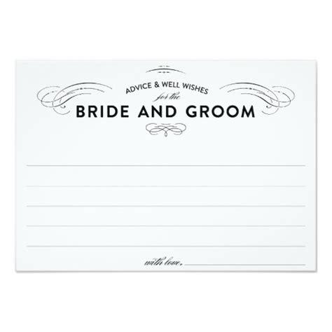 Wedding Advice Cards Invitation Card